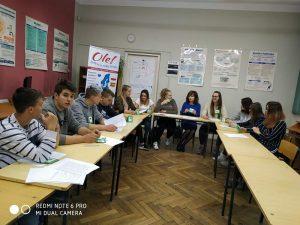 zajęcia z pedagogiem Erasmus+